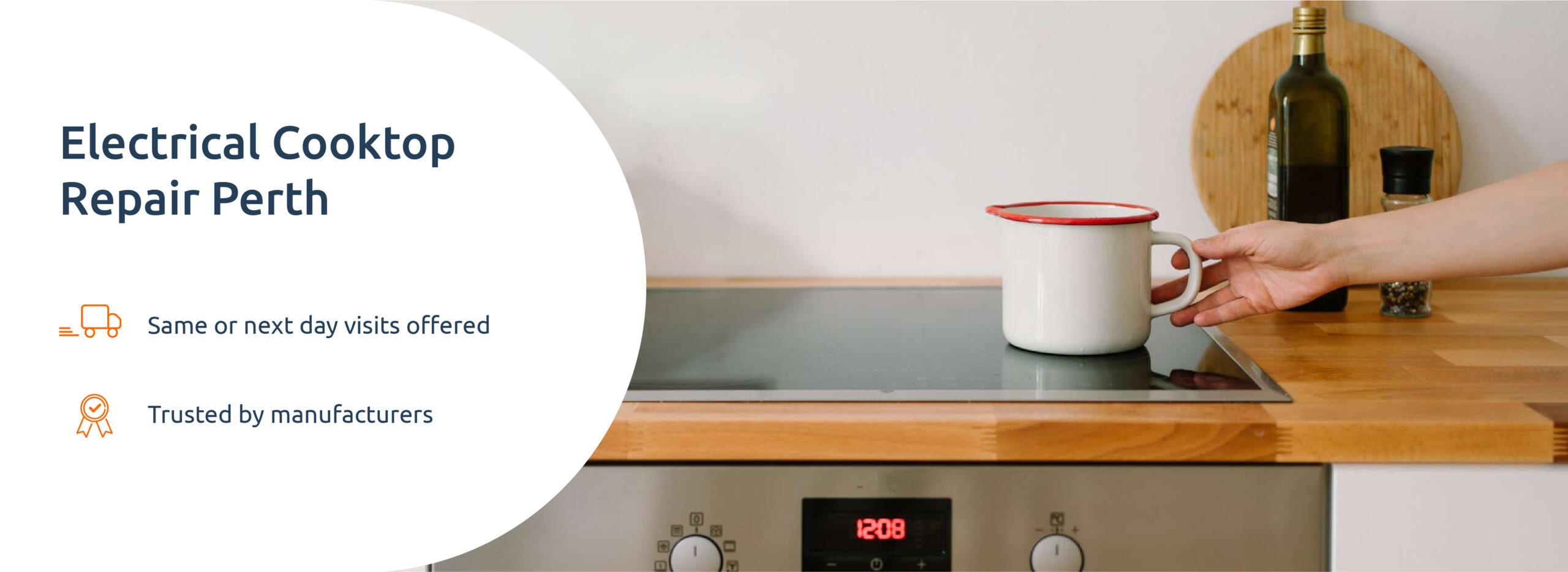 electrical cooktop repair
